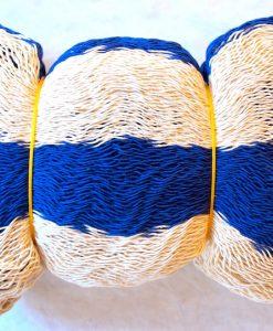 hojdacia sieť natural modrá