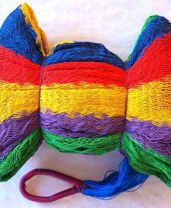 hojdacia sieť č.29 koncové vlákna modré