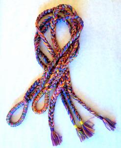 predlžovacie lano pestrofarebné